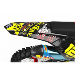 Graphics Kit ROCKSTAR ENERGY RED : Give a new youth to your bike