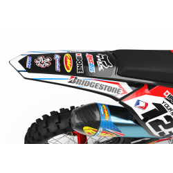 Graphics Kit BOXER RED : Add value to your Motocross and Quad