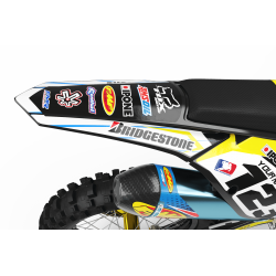 Graphics Kit BOXER YELLOW : Add value to your Motocross and Quad